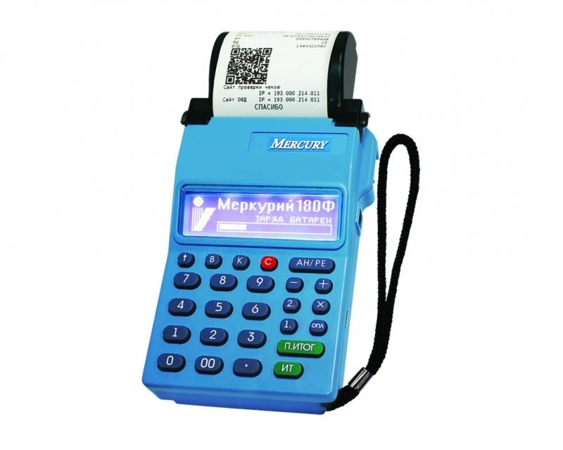 Кассовый аппарат онлайн Меркурий-180Ф